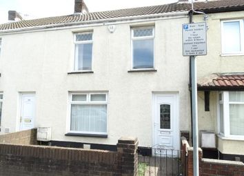 Thumbnail 3 bed terraced house to rent in Llangyfelach Road, Swansea