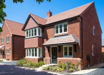 "Thumbnail 4 bed detached house for sale in ""The Canterbury"" at Ash Road, Cuddington, Northwich"