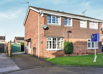 Thumbnail 3 bed semi-detached house for sale in Deacon Close, Oakwood, Derby