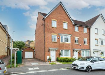 Thumbnail 3 bed town house for sale in Three Valleys Way, Bushey