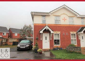 Thumbnail 2 bed end terrace house to rent in Laburnum Close, Afon-Y-Coed, Rogerstone, Newport
