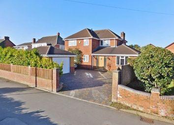 Thumbnail 4 bed detached house for sale in Anker Lane, Stubbington, Fareham