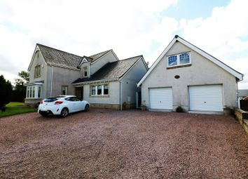 Thumbnail 5 bed detached house for sale in Millhill Drive, Greenloaning Dunblane