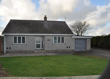 Thumbnail 2 bed property to rent in Llanynghenedl, Holyhead