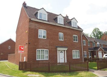 Thumbnail 5 bedroom detached house for sale in Bryans Close, Coddington, Newark