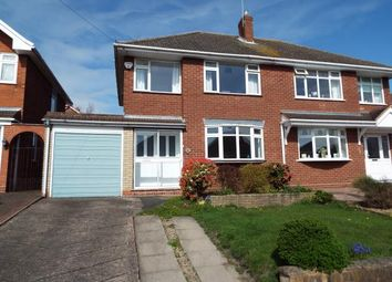 Thumbnail 3 bed semi-detached house for sale in 2 Quarry Close, Cheslyn Hay, Walsall