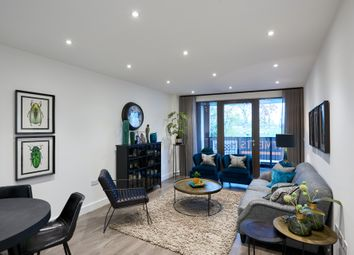 Thumbnail 2 bed flat for sale in Burdett Road, London