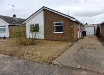 Thumbnail 3 bed detached bungalow for sale in Chestnut Crescent, March