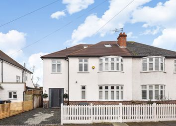 Thumbnail 5 bed semi-detached house for sale in Malden Park, New Malden