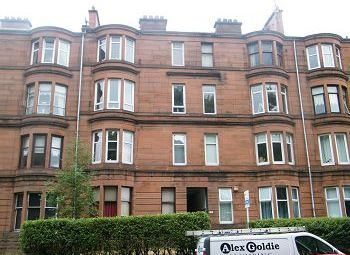 Thumbnail 2 bed flat to rent in 540 Tollcross Road, Glasgow