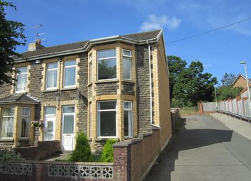 Thumbnail 3 bed end terrace house for sale in Park Crescent, Bargoed