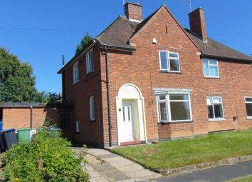 Thumbnail 3 bedroom semi-detached house to rent in St Cuthberts Avenue, Great Glen, Leicester