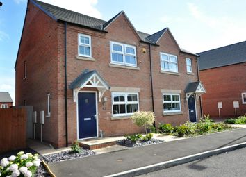 Thumbnail 3 bed semi-detached house for sale in Foxglove Close, Burton-On-Trent