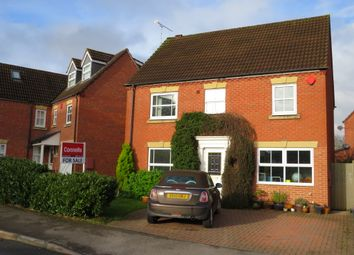 Thumbnail 4 bed detached house for sale in Rogers Way, Warwick