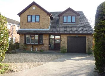 Thumbnail 4 bed detached house for sale in Picksley Crescent, Holton Le Clay, Grimsby