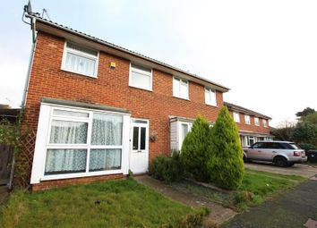 Thumbnail 3 bed semi-detached house to rent in Knightswood, Woking
