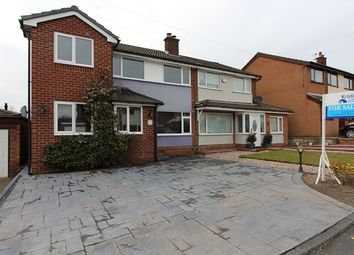 Thumbnail 4 bed semi-detached house to rent in Beech Grove Close, Bury