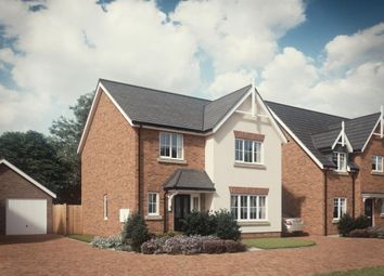 Thumbnail 4 bedroom detached house for sale in Marsh Lane, Hinstock, Market Drayton