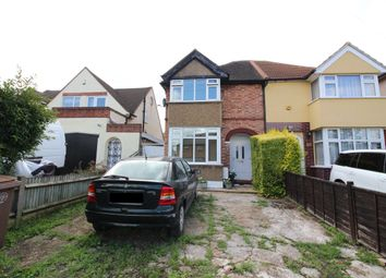 Thumbnail 3 bed semi-detached house for sale in Langley Avenue, Worcester Park
