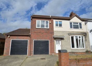 Thumbnail 4 bed semi-detached house for sale in Hawthorne Crescent, Scunthorpe