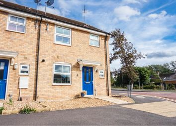 Thumbnail 3 bed end terrace house for sale in Crowland Road, Peterborough