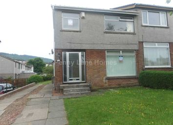Thumbnail 3 bed semi-detached house to rent in Hazelwood Avenue, Paisley