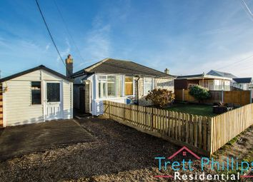 Thumbnail 3 bed detached bungalow to rent in The Crescent, Walcott, Norwich