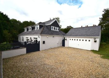 Thumbnail 5 bed detached house for sale in Hazeldene, Heol Eglwys, Pen-Y-Fai