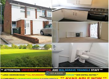 Thumbnail 3 bed end terrace house to rent in Boswell Drive, Coventry