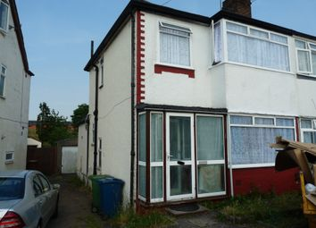 Thumbnail 4 bed semi-detached house to rent in Aldridge Avenue, Stanmore