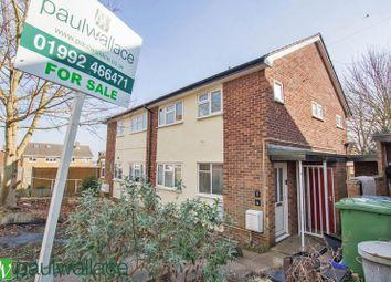 Thumbnail 1 bed flat for sale in Saffron Close, Hoddesdon