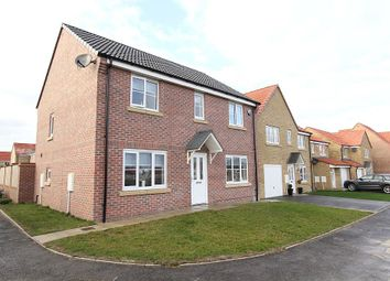 Thumbnail 4 bed detached house for sale in Brunswick Crescent, Sherburn In Elmet, Leeds, West Yorkshire