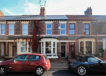 Thumbnail 3 bed terraced house to rent in Meadow Street, Cardiff