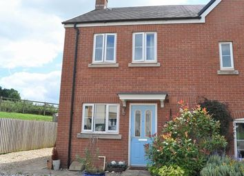 Thumbnail 2 bed semi-detached house for sale in Olympian Way, Cullompton