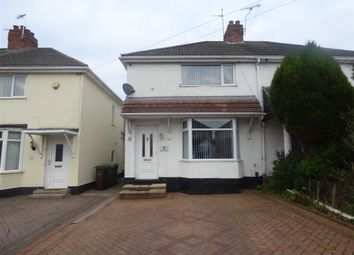 Thumbnail 2 bedroom semi-detached house to rent in Moreton Road, Wolverhampton