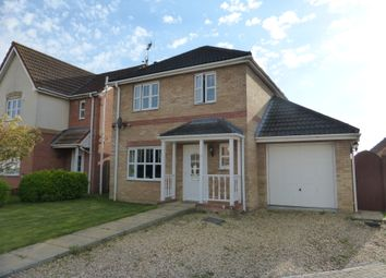 Thumbnail 3 bed detached house for sale in Cedar Way, Elm, Wisbech
