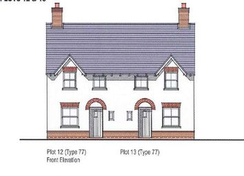 Thumbnail 3 bed semi-detached house for sale in Fippenny Grove, Higher Street, Okeford Fitzpaine, Blandford Forum