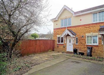 Thumbnail 2 bedroom end terrace house for sale in Fletcher Close, Dibden, Southampton