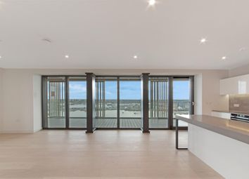 Thumbnail 3 bed flat for sale in Marco Polo Tower, Bonnet Street, Royal Wharf, London