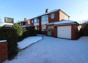 Thumbnail 4 bed semi-detached house for sale in Newearth Road, Worsley, Manchester