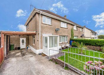 Thumbnail 4 bed semi-detached house for sale in Heol Bryncwils, Sarn, Bridgend