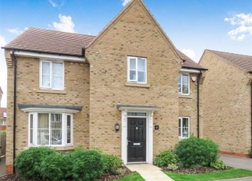 Thumbnail 4 bed detached house for sale in Knights Way, St. Ives, Huntingdon