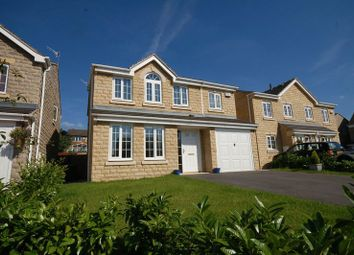 Thumbnail 4 bed detached house for sale in Plover Close, Glossop