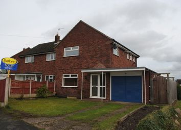 Thumbnail 3 bed semi-detached house to rent in Highfields, Market Drayton
