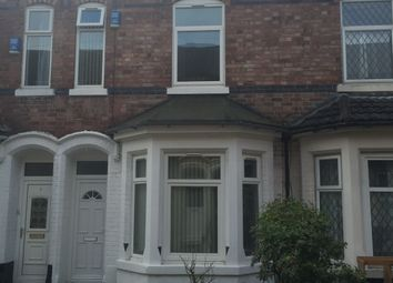 Thumbnail 4 bed terraced house to rent in Tudor Grove, Nottingham