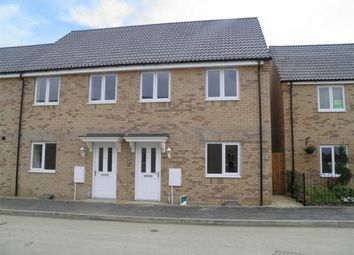Thumbnail 3 bed end terrace house to rent in Charter Avenue, Market Deeping, Peterborough, Lincolnshire