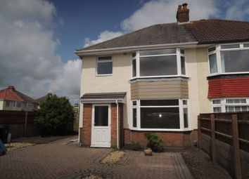 Thumbnail 3 bedroom semi-detached house for sale in Harford Road, Poole