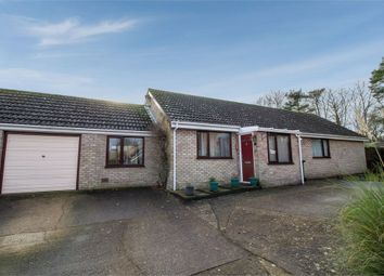 Thumbnail 4 bedroom detached bungalow for sale in Hunt Close, Harleston, Norfolk