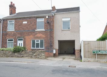 Thumbnail 4 bed semi-detached house for sale in Chesterfield Road, Grassmoor, Chesterfield