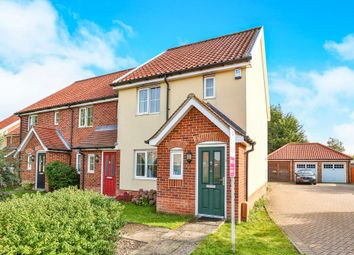 Thumbnail 2 bedroom end terrace house for sale in Mckee Drive, Tacolneston, Norwich